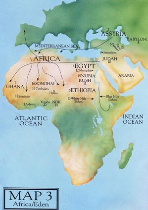 African countries in the Bible let the maps speak Celebrating